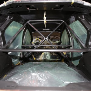 Roll-Cage equipped from Design Craft Fabrication - D-Sport's 2015 Fiesta