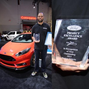 D-Sport Magazine wins the Ford Project Excellence Award @ SEMA 2015