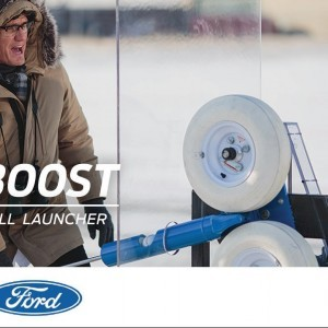 EcoBoost Engine Meets Pitching Machine | The Boost | Ford - YouTube