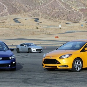 Ford Focus ST vs Volkswagen Golf R (or Subaru BRZ)! - Head 2 Head Episode 23 - YouTube