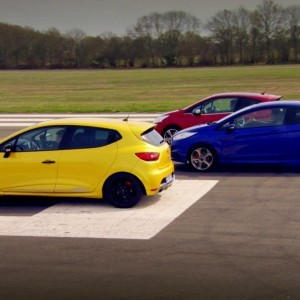 Peugeot 208 GTi vs Renault Clio 200 Vs Ford Fiesta ST - Top Gear - Series 20 - BBC - YouTube