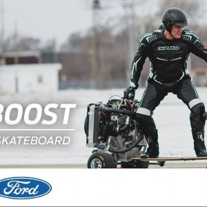 EcoBoost Engine Meets Skateboard | The Boost | Ford - YouTube