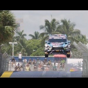 The Science of the Red Bull Global Rallycross Jump - YouTube