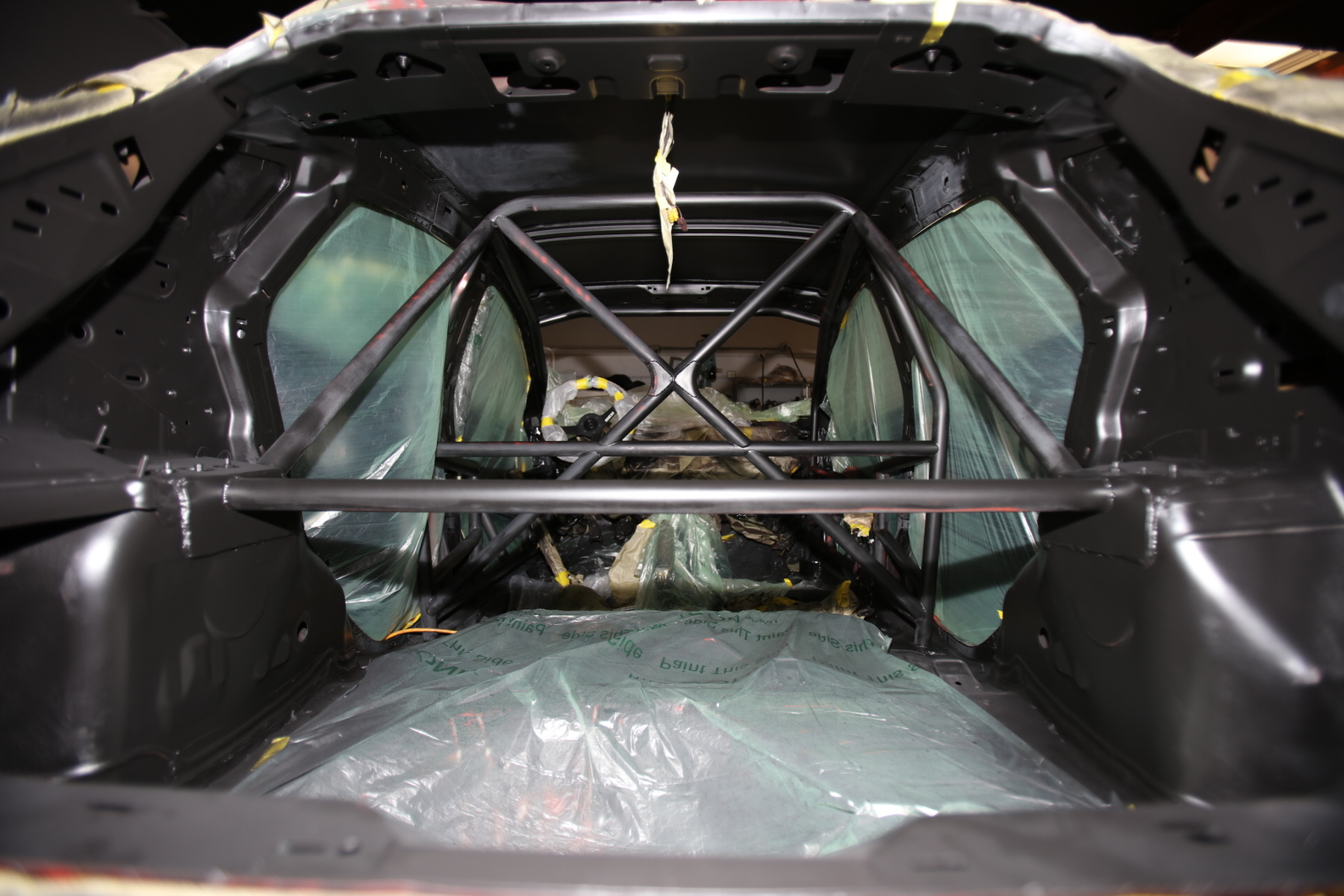 Roll-Cage equipped from Design Craft Fabrication - D-Sport's